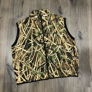 Vintage Orvis Skyline Camo Safari Hunting Vest Men